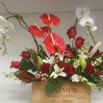 Anthurium and Rose Box